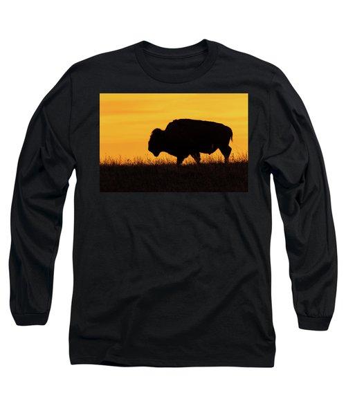 Sunrise Bison Long Sleeve T-Shirt