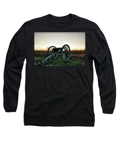 Sunset In Defense Long Sleeve T-Shirt