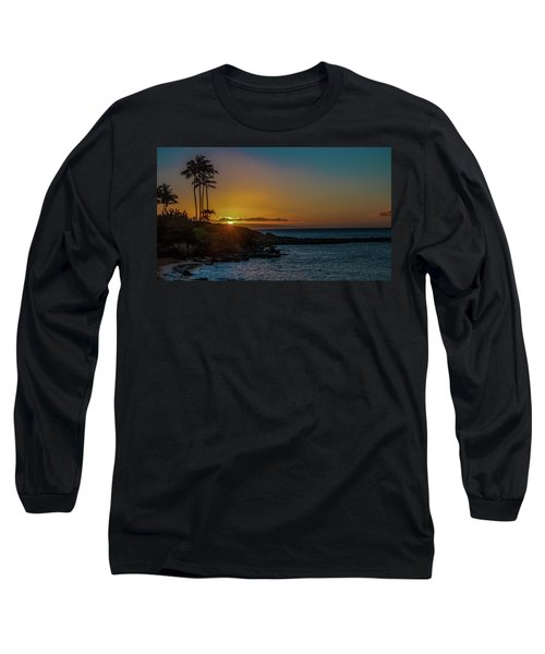 Sunset On Kapalua Long Sleeve T-Shirt
