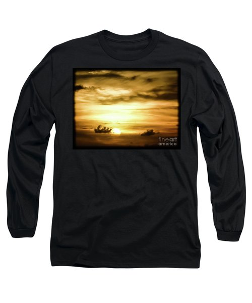 Sunset On The Pacific Ocean Long Sleeve T-Shirt