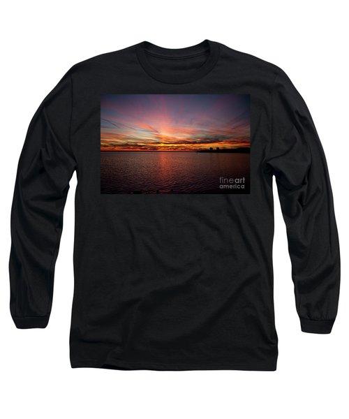 Sunset Over Canada Long Sleeve T-Shirt