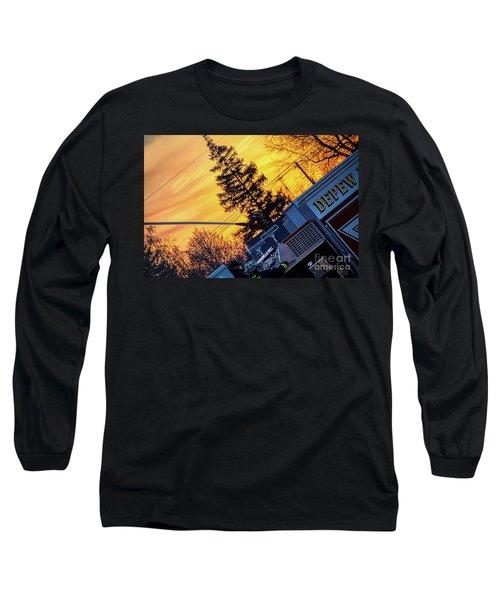 Sunset Streams Long Sleeve T-Shirt