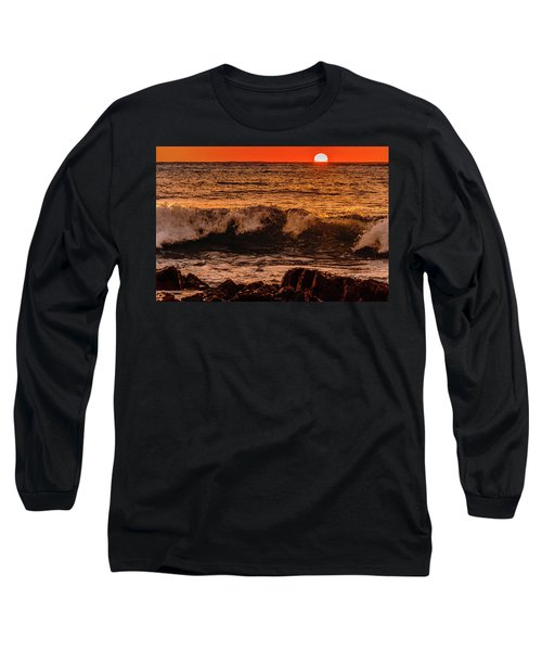Sunset Wave Long Sleeve T-Shirt