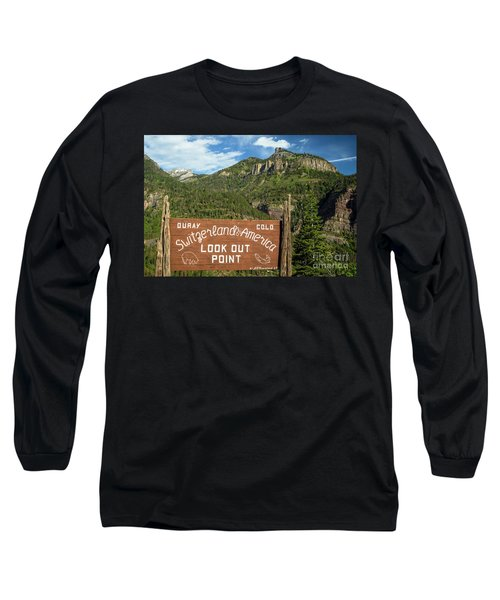 Switzerland Of America Long Sleeve T-Shirt