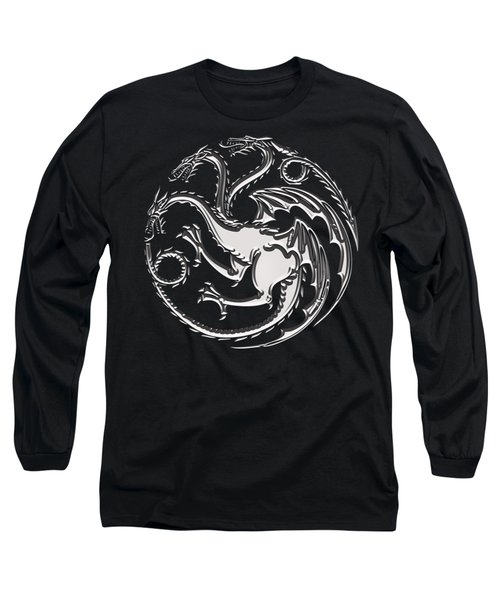 Targaryen Dragon Sigil Long Sleeve T-Shirt