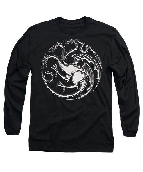 Targaryen Dragon Sigil Long Sleeve T-Shirt