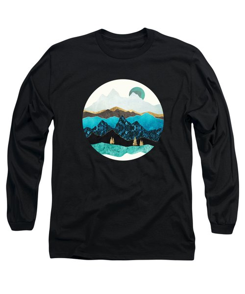 Teal Afternoon Long Sleeve T-Shirt