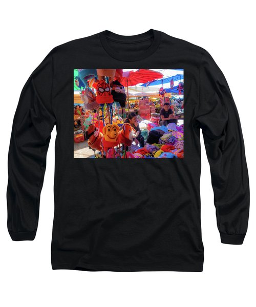 The Colours Of Childhood Long Sleeve T-Shirt
