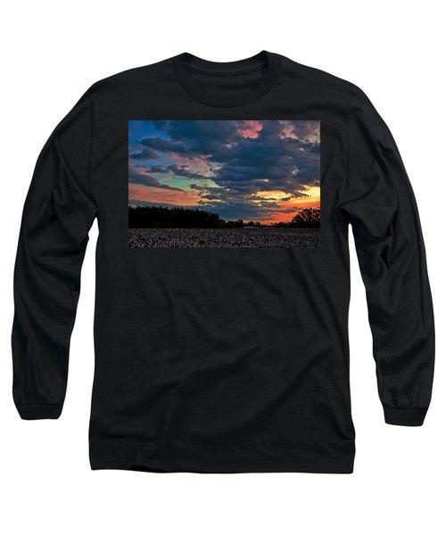 The Cotton Field  Long Sleeve T-Shirt