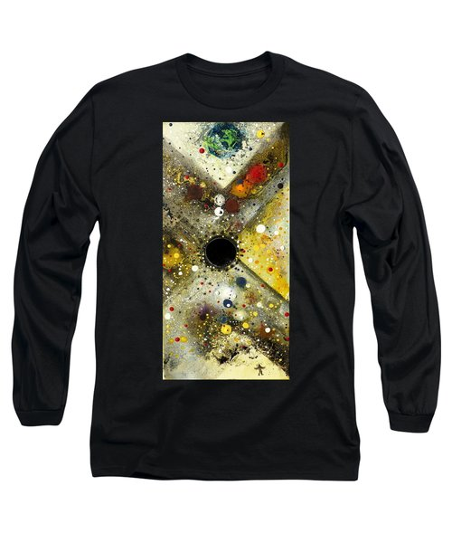 Long Sleeve T-Shirt featuring the painting The Escape Artist by 'REA' Gallery
