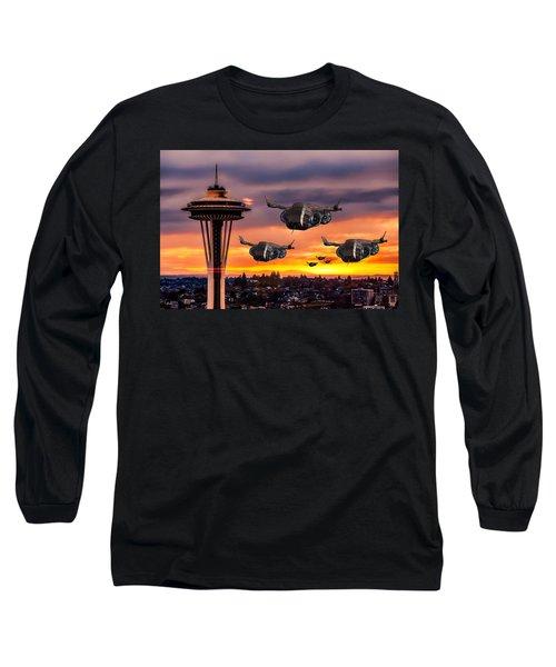 The Evening Commute Long Sleeve T-Shirt