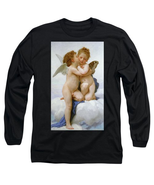The First Kiss, 1890 Long Sleeve T-Shirt