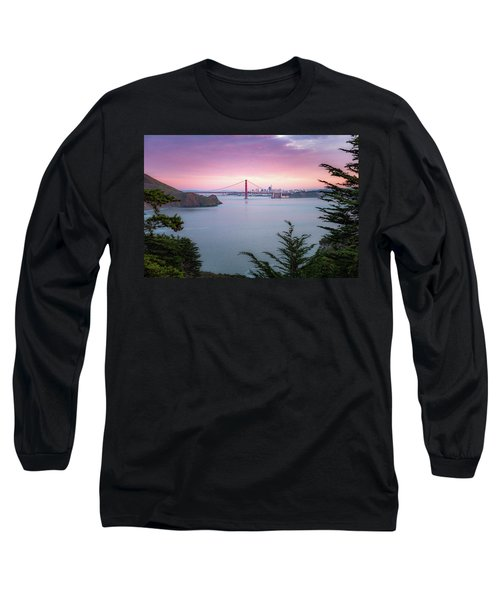 The Golden City  Long Sleeve T-Shirt
