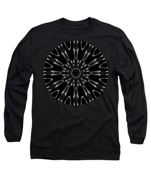 Long Sleeve T-Shirt featuring the digital art The Light Is Within Me by Rachel Hannah