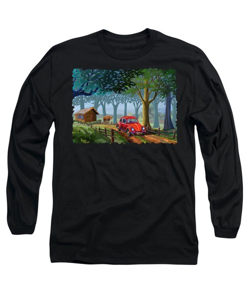 The Little Red Beetle Long Sleeve T-Shirt