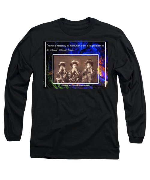The Mystic Circle Inspirational Series One Five Long Sleeve T-Shirt