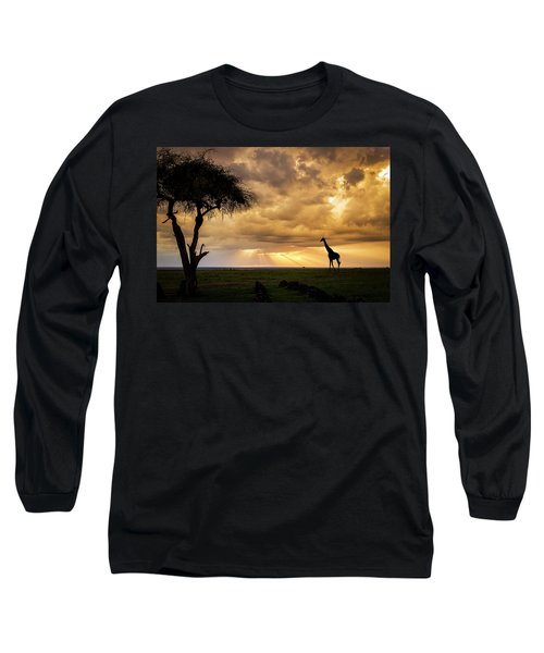 The Plains Of Africa Long Sleeve T-Shirt