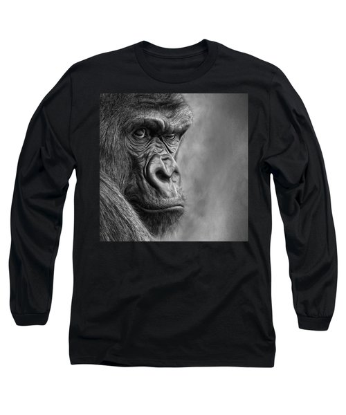 The Serious One Long Sleeve T-Shirt