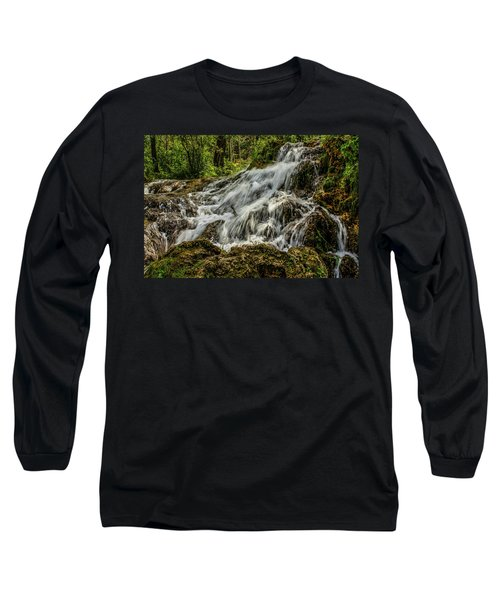 The Springs In It's Summer Green, Big Hill Springs Provincial Re Long Sleeve T-Shirt