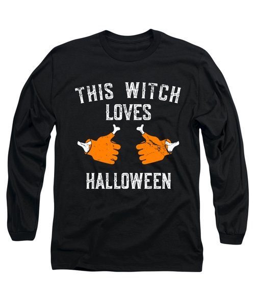 This Witch Loves Halloween Long Sleeve T-Shirt
