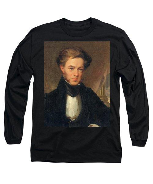 Portrait Of Thomas Ustick Walter, 1835 Long Sleeve T-Shirt