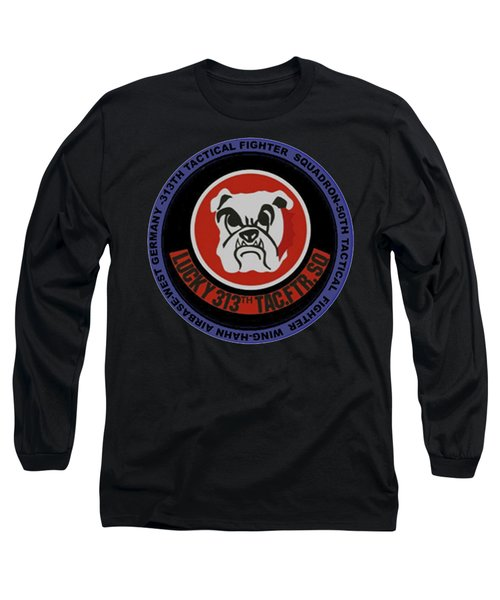The 313th Tactical Fighter Squadron Long Sleeve T-Shirt