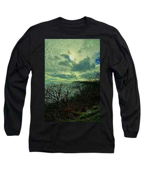 Thunder Mountain Clouds Long Sleeve T-Shirt