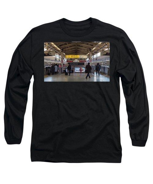 Tokyo To Kyoto Bullet Train, Japan 2 Long Sleeve T-Shirt