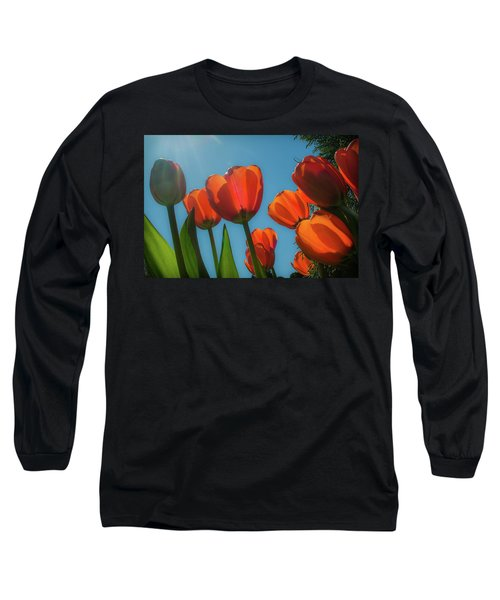 Towering Tulips Long Sleeve T-Shirt
