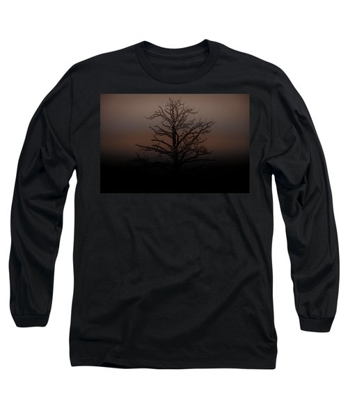 Tree Silhouette  Long Sleeve T-Shirt