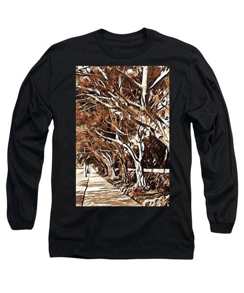 Treelined Long Sleeve T-Shirt