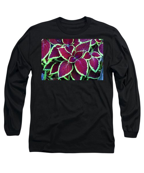 Tropical Leaves Long Sleeve T-Shirt
