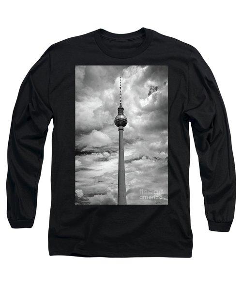 Tv Tower In Berlin Long Sleeve T-Shirt