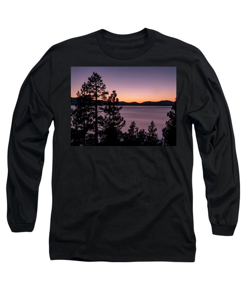 Twilight At Lake Tahoe Long Sleeve T-Shirt