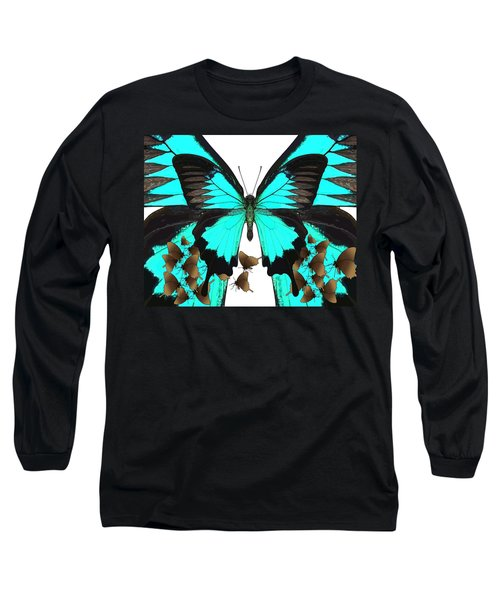 U Is For Ulysses Butterfly Long Sleeve T-Shirt