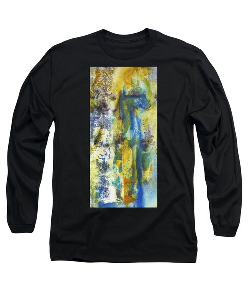 Long Sleeve T-Shirt featuring the painting Untitled3 by 'REA' Gallery
