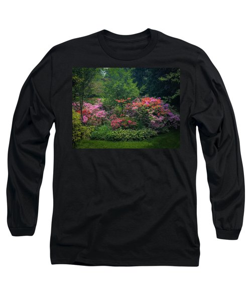 Urban Flower Garden Long Sleeve T-Shirt