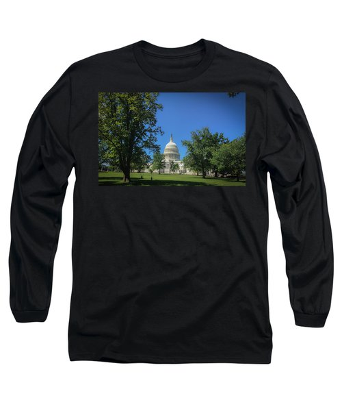 Us Capitol Long Sleeve T-Shirt