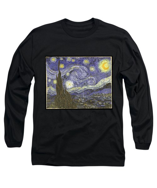 Van Goh Starry Night Long Sleeve T-Shirt