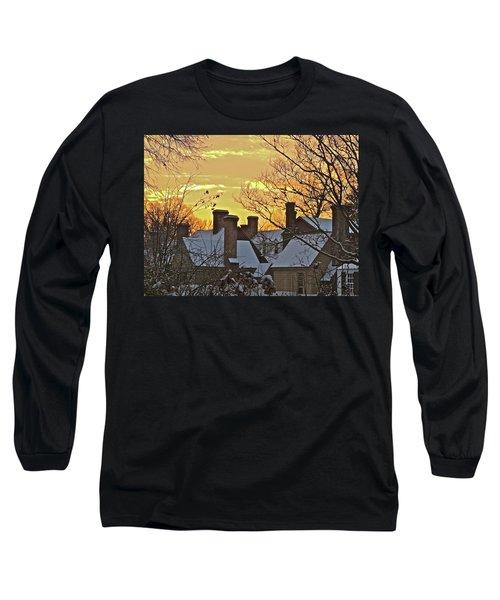Village Morning Long Sleeve T-Shirt