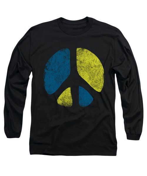 Vintage Peace Sign Long Sleeve T-Shirt