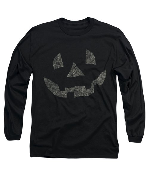 Vintage Pumpkin Face Long Sleeve T-Shirt