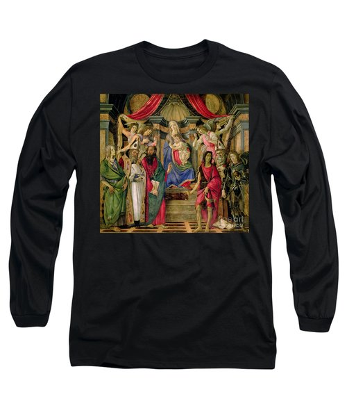 Virgin And Child With Saints From The Altarpiece Of San Barnabas, Long Sleeve T-Shirt
