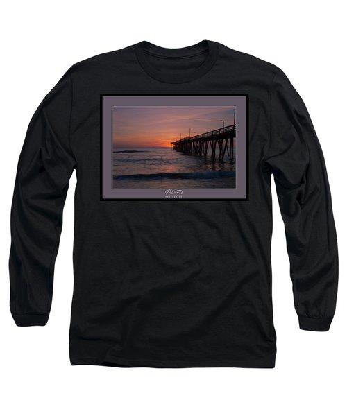 Virginia Beach Sunrise Long Sleeve T-Shirt