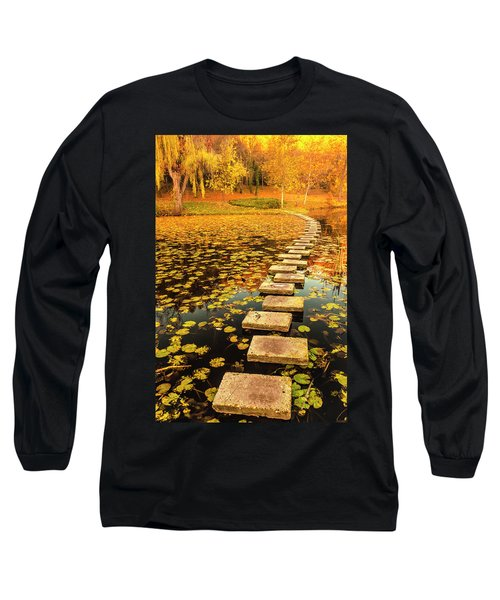 Way In The Lake Long Sleeve T-Shirt