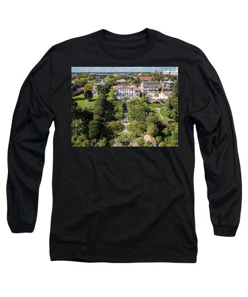 Long Sleeve T-Shirt featuring the photograph Wedding Crasher by Randy Scherkenbach