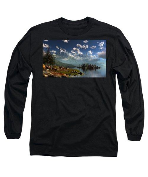 Window Through The Mist Long Sleeve T-Shirt
