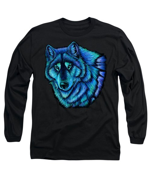 Wolf Aurora Long Sleeve T-Shirt