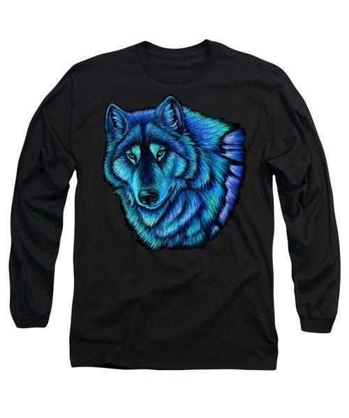 Wolf Aurora Long Sleeve T-Shirt