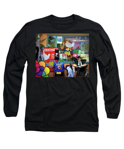 Woodstock Peace And Love 3 Long Sleeve T-Shirt